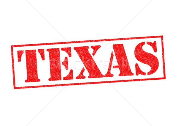 Texas blanco ciudad botón cultura Foto stock © chrisdorney