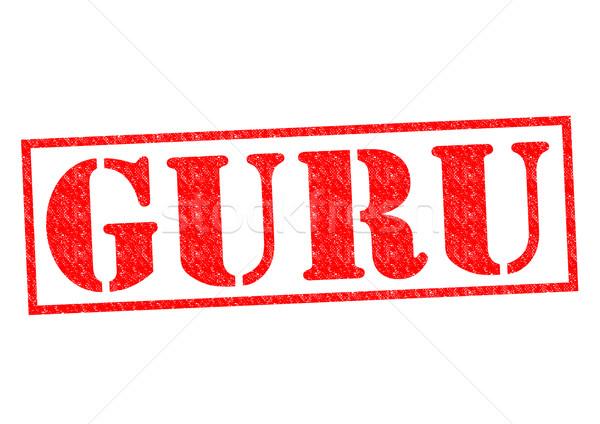 GURU Rubber Stamp Stock photo © chrisdorney