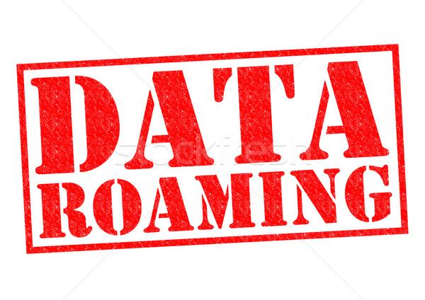 DATA ROAMING Stock photo © chrisdorney