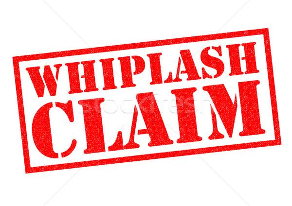 WHIPLASH CLAIM Stock photo © chrisdorney