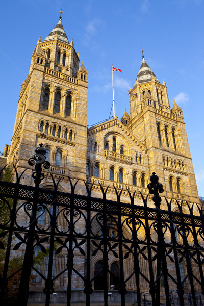 Natural History Museum in London Stock photo © chrisdorney