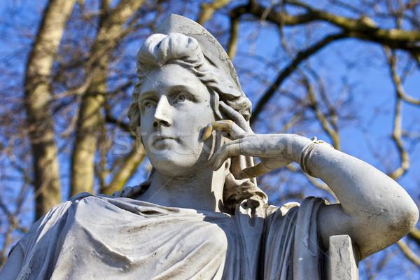 статуя зеленый известный актриса Лондон город Сток-фото © chrisdorney