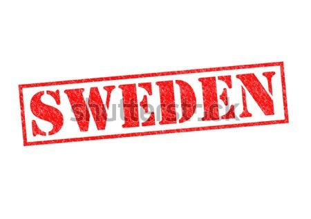 Svezia bianco vacanze pulsante cultura Foto d'archivio © chrisdorney