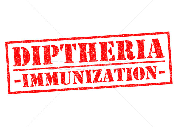 DIPTHERIA IMMUNIZATION Stock photo © chrisdorney