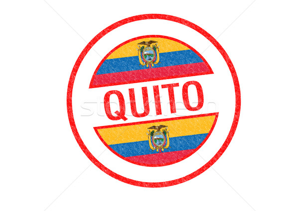 QUITO Stock photo © chrisdorney