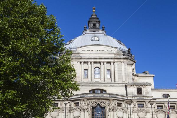 Methodist Central Hall in London Stock photo © chrisdorney