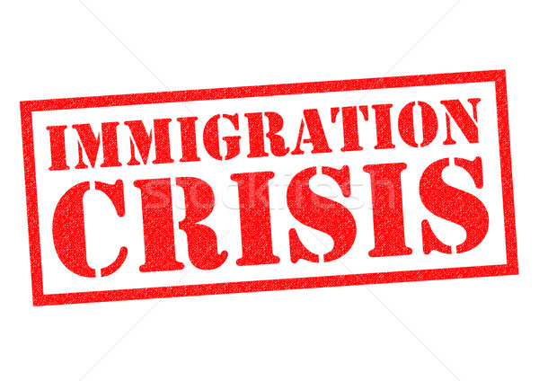 IMMIGRATION CRISIS Stock photo © chrisdorney