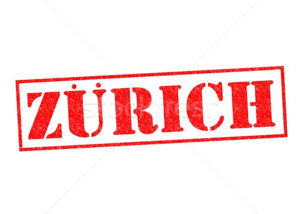 チューリッヒ 白 ヨーロッパ 休暇 ボタン ストックフォト © chrisdorney