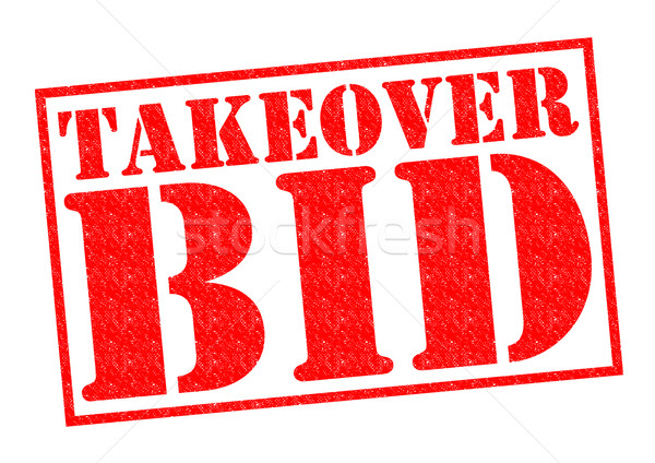 TAKEOVER BID Stock photo © chrisdorney