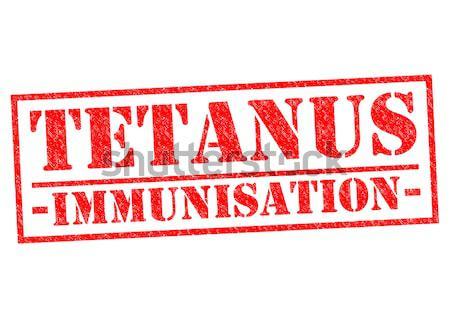 TETANUS IMMUNISATION Stock photo © chrisdorney