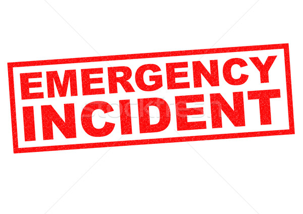 EMERGENCY INCIDENT Stock photo © chrisdorney
