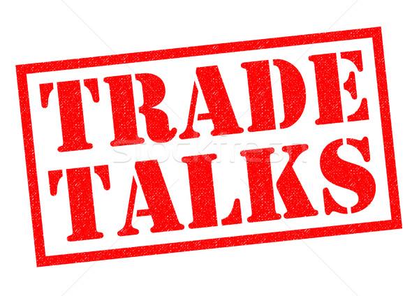 TRADE TALKS Stock photo © chrisdorney