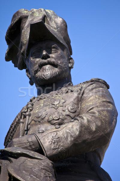 Rei Liverpool pier cabeça fora real Foto stock © chrisdorney