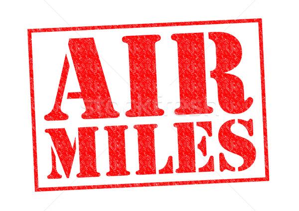AIR MILES Stock photo © chrisdorney