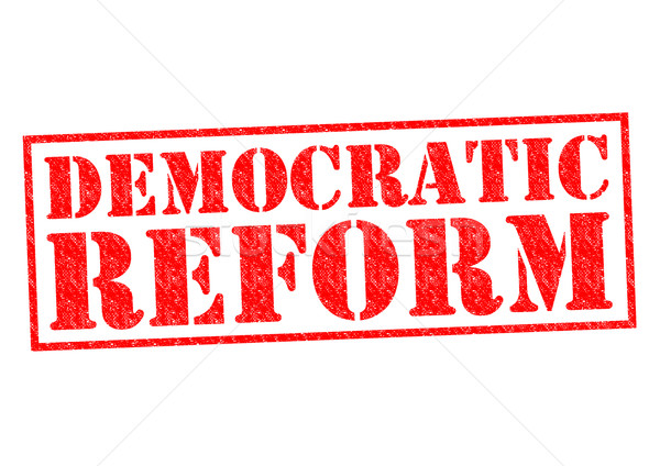 DEMOCRATIC REFORM Stock photo © chrisdorney