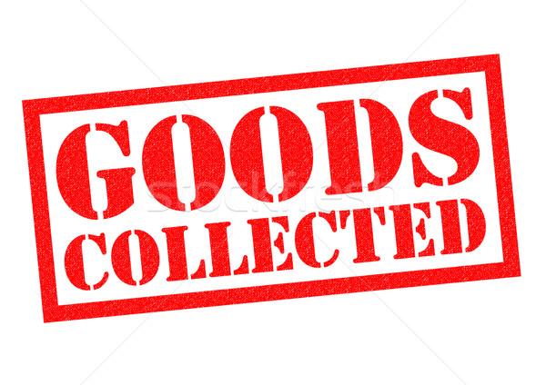 GOODS COLLECTED Stock photo © chrisdorney