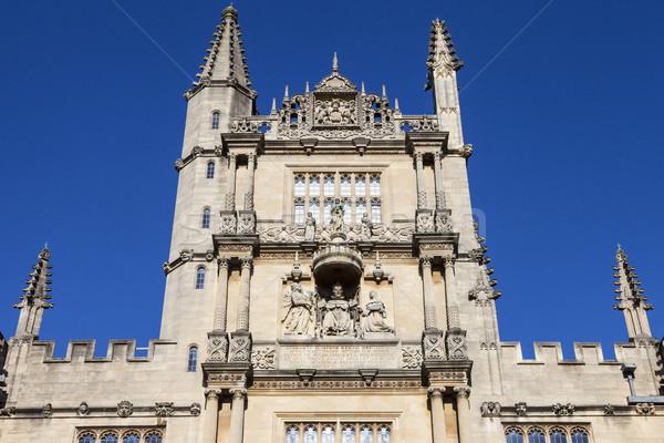 Bodleian Library in Oxford Stock photo © chrisdorney