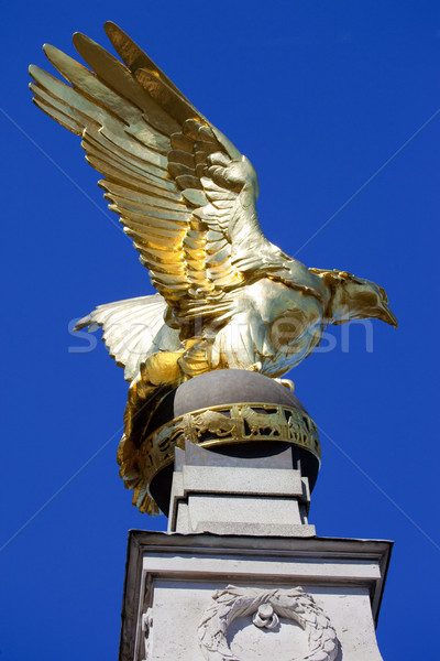 RAF Memorial on Victoria Embankment in London Stock photo © chrisdorney