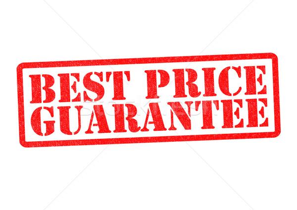 En iyi fiyat garanti beyaz alışveriş finanse Stok fotoğraf © chrisdorney