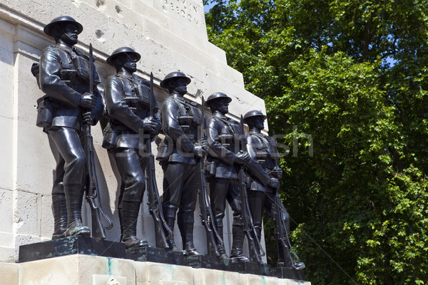 Guards Memorial at Horse Guards Parade in London Stock photo © chrisdorney