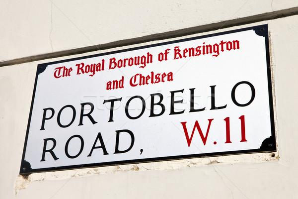 Portobello Road in London Stock photo © chrisdorney
