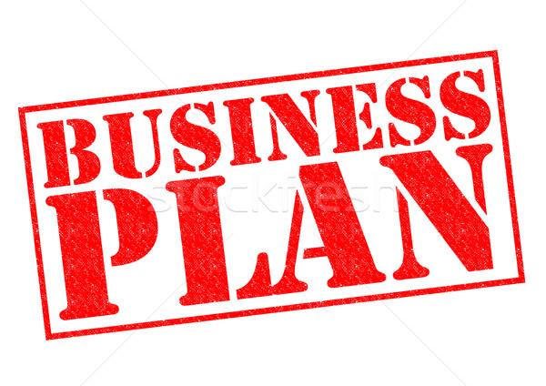BUSINESS PLAN Stock photo © chrisdorney