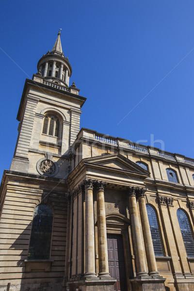 All Saints Church in Oxford Stock photo © chrisdorney