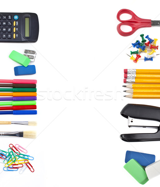 Stationery Border Stock photo © chrisdorney