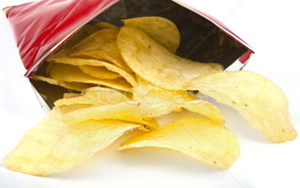 Packet of Crisps Stock photo © chrisdorney