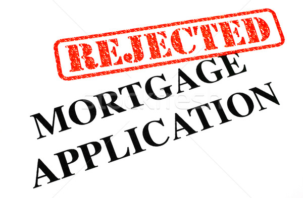 Hypothek Anwendung Dokument Büro home Stock foto © chrisdorney