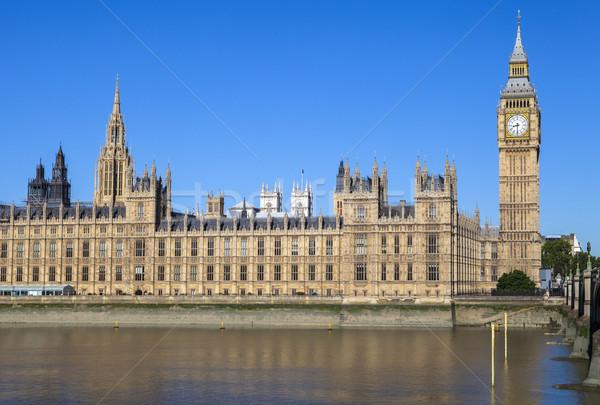 Palace of Westminster in London Stock photo © chrisdorney