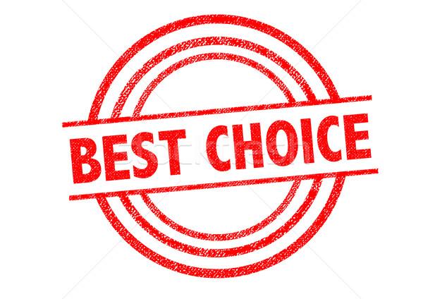 Legjobb választás pecsét fehér címke címke választás Stock fotó © chrisdorney