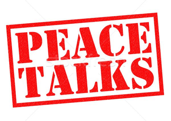 PEACE TALKS Stock photo © chrisdorney