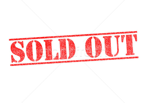 Stock photo: SOLD OUT