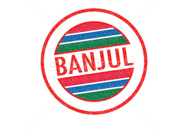 BANJUL Stock photo © chrisdorney