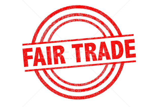 FAIR TRADE Rubber Stamp Stock photo © chrisdorney