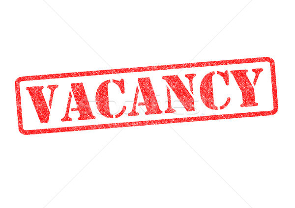 VACANCY Rubber Stamp Stock photo © chrisdorney