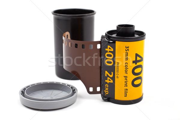 Roll of Photographic Film Stock photo © chrisdorney