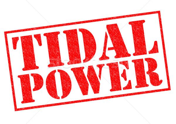 TIDAL POWER Stock photo © chrisdorney