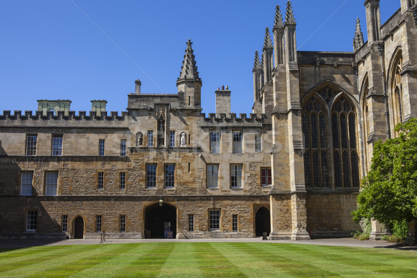 Foto stock: Nuevos · universidad · oxford · vista · dentro · Inglaterra
