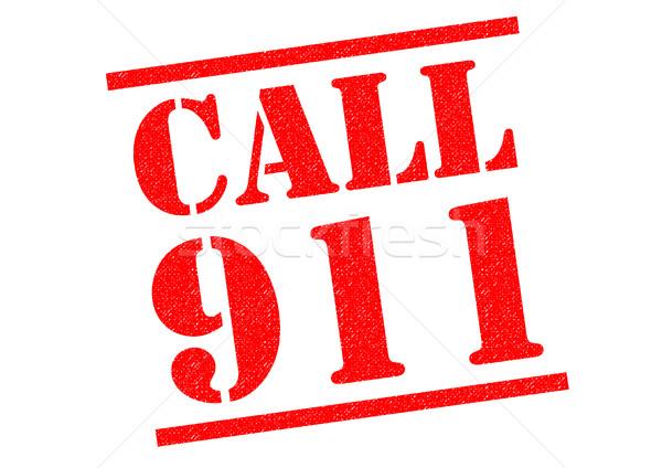 CALL 911 Stock photo © chrisdorney