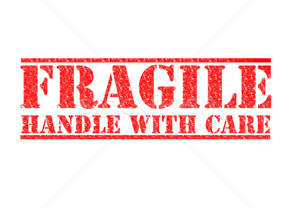 FRAGILE - Handle With Care Stock photo © chrisdorney