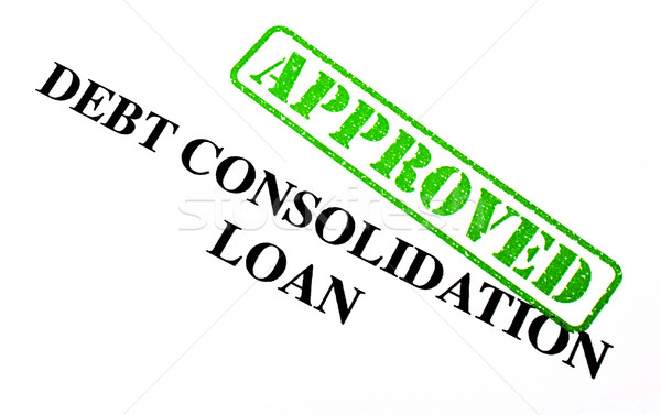 Approved Debt Consolidation Loan Stock photo © chrisdorney