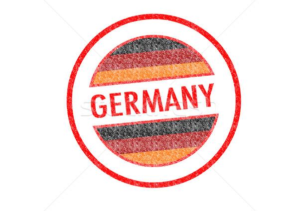 Stockfoto: Duitsland · witte · stad · knop · cultuur