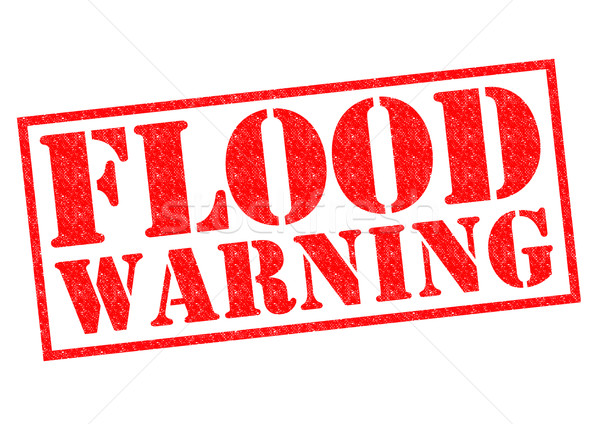 FLOOD WARNING Stock photo © chrisdorney