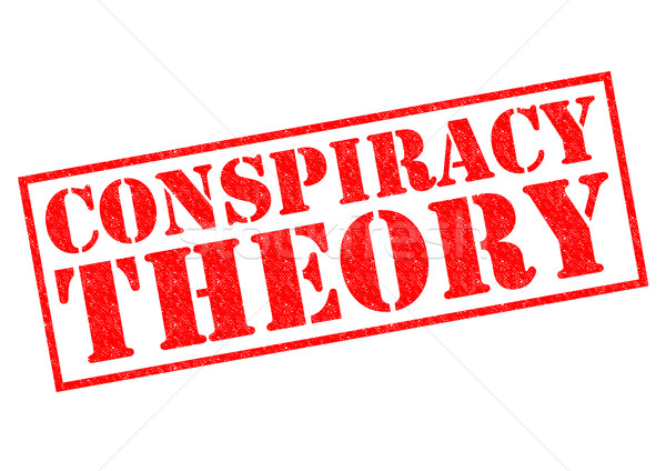 CONSPIRACY THEORY Stock photo © chrisdorney