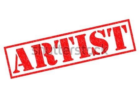 ARTIST Stock photo © chrisdorney