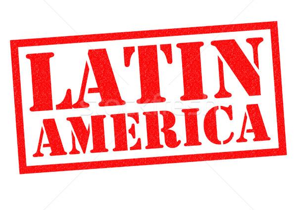 Ameryka Łacińska czerwony biały romans tag Zdjęcia stock © chrisdorney