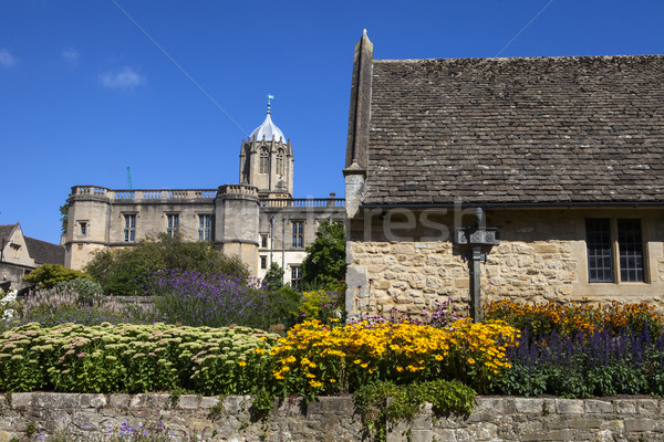 Christ Church Memorial Garden in Oxford Stock photo © chrisdorney