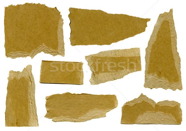 Ripped Cardboard  Stock photo © chrisdorney